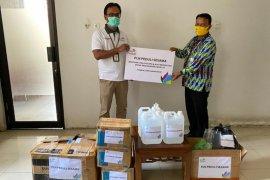 PLN Bagikan Bantuan APD dan Alat Kesehatan di Jongkat
