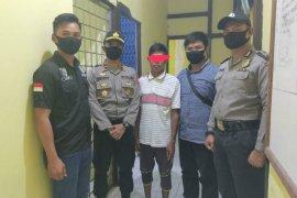 Polisi menangkap seorang nelayan pesisir sungai Kapuas kasus pencurian