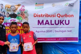 Global Qurban ACT Maluku distribusikan daging hewan kurban ke pelosok desa