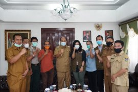 Wali Kota Tebing Tinggi terima kunjungan Deputi BNPB Pusat
