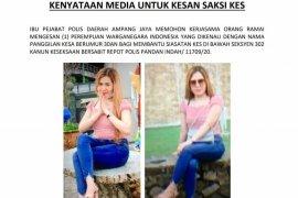 Seorang wanita WNI diburu polisi Malaysia terkait kasus pembunuhan