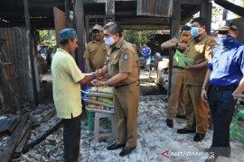 ASN Kubu Raya bantu korban kebakaran Perum IV