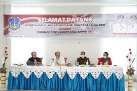 Tebing Tinggi sosialisasikan Permendagri No.64 Tahun 2020