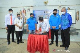 DPD KNPI HSS peringati milad ke-47 dan launching LBH Amandit