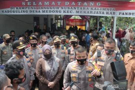 Berhasil jadi Kampung Tangguh, Kapolda Banten apresiasi Desa Medong Pandeglang