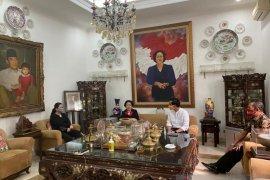 Megawati terima Gibran dan Hadi Rudyatmo di kediamannya