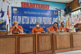 TPP sosialisasikan pedoman penjaringan calon Ketum KONI Provinsi Jambi 2020-2024