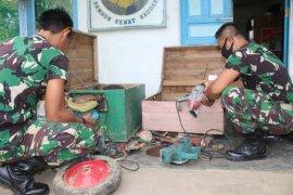 Serda M Noor laksanakan pengecekan peralatan tukang usai TMMD berakhir