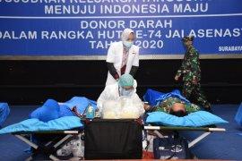 Peringati HUT ke-74, Jalasenastri Kodiklatal gelar donor darah.