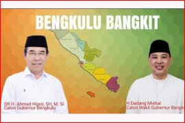 Ahmad Hijazi gandeng Dadang Mishal maju Pilgub Bengkulu