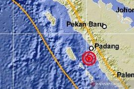 Dalam sepekan terakhir terjadi 20 getaran gempa di Sumatera bagian utara