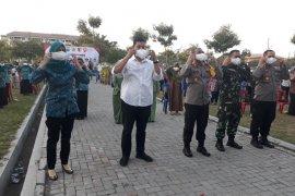 Wali Kota dan Forkopimda Kediri kampanyekan penggunaan masker