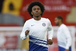 Willian loncat dari Chelsea ke Arsenal dengan gaji Rp1,9 miliar per pekan