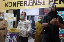 Kota Gorontalo masih menempati posisi pertama kasus COVID-19