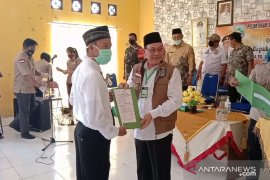 15 anggota BPD di tiga desa dilantik bupati