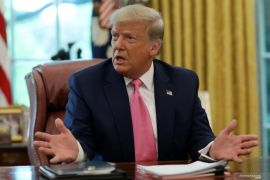 Facebook hapus unggahan Presiden Trump soal virus corona