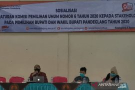 KPU Pandeglang sosialisasikan PKPU soal pilkada di tengah pandemi