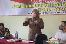 Bupati Irna: Pilkada bukan hanya tanggung jawab KPU dan Bawaslu