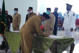 Wali Kota Tebing Tinggi lantik sejumlah pejabat