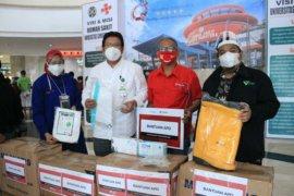 Telkomsel bantu APD untuk RS USU Medan dan Zainoel Abidin Aceh