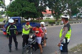Satlantas Polres Bangka berhasil menilang 367 set