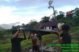 Wilayah terdepan distrik Airu Jayapura terkoneksi internet program Kominfo
