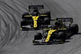Formula 1: Ricciardo, Ocon tampil impresif, Renault panen poin di GP Belgia