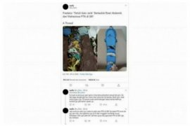 Polisi tangkap pelaku fetish pocong jarik 'Gilang Bungkus'