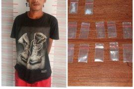 Kepolisian Pangkalan Susu Langkat tangkap pemilik sabu-sabu
