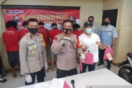 Polsek Cempaka Putih Jakarta tangkap enam pelaku begal