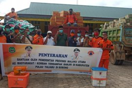 BPBD Malut salurkan bantuan korban banjir Pulau Taliabu