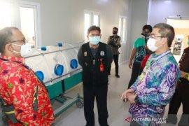 Wawali resmikan ruang perawatan COVID-19 di RSD Idaman