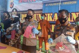 Polresta Cirebon tangkap empat pencuri