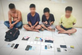 BNNP sita setengah kilogram sabu-sabu dari empat orang di Sampit
