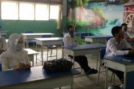 SMPN 1 Kota Pontianak simulasi penyelenggaraan kegiatan belajar di sekolah
