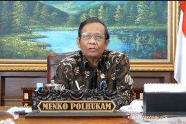 Mahfud MD: Aparat terlibat kasus Djoko Tjandra terus diusut