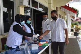Pemkab Aceh Tengah perketat protokol kesehatan di lingkungan kantor