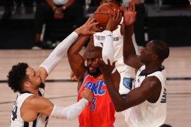 Grizzlies bungkam Thunder 121-92, Dillon Brooks cetak 22 poin