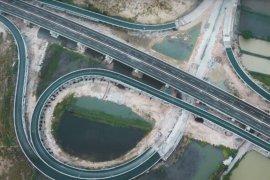Konstruksi Tol Krian-Manyar ditargetkan rampung akhir 2020