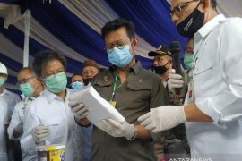 Menteri Pertanian kunjungi pabrik tapioka di Bangka