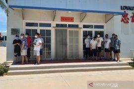 324 TKA asal China di PT BAI Bintan jalani tes usap