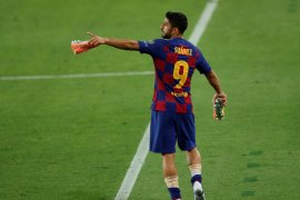 Barcelona kalahkan Napoli, Luiz Suarez ungkap rahasia kemenangan