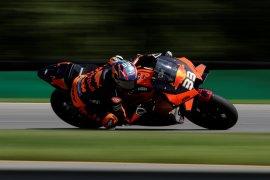 Pebalap KTM Brad Binder raih kemenangan perdana MotoGP di Brno