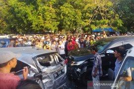 Pelaku penabrak 6 mobil beruntun di Padang merupakan anggota polisi