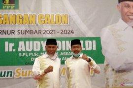 Sah, PKS-PPP usung Mahyeldi-Audy Joinaldy di Pilgub Sumbar