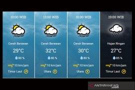 Jakarta berpotensi hujan disertai petir sore dan malam nanti