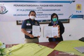 PLN Padangsidimpuan jalin kerjasama dengan Kejari Padang Lawas