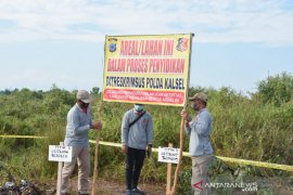 S Kalimantan Police highlight corporation to prevent land and forest fire