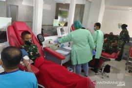Kasad sebut sudah 113 Perwira Secapa AD donor plasma darah