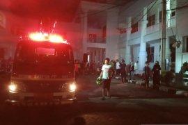 Kantor Bupati Labuhanbatu terbakar, diduga akibat arus pendek